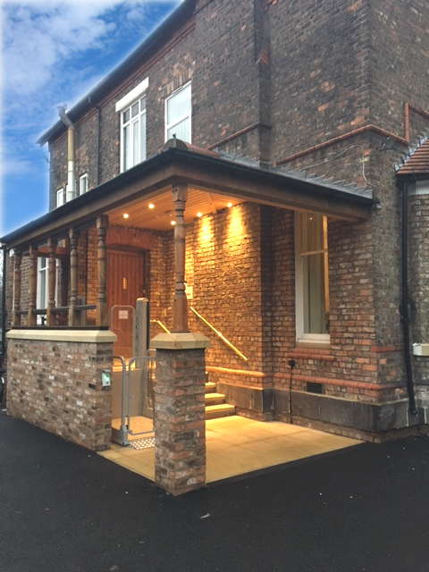 Care Home - Heathfield Care Home Grappenhall New Entrance