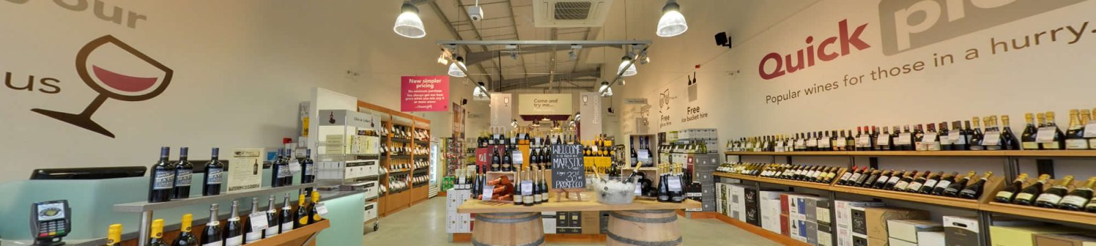 Majestic Wine Commercial Refurbishment