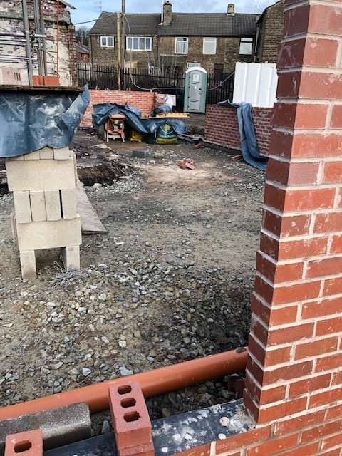 Demolition to new build - RT Fencing, Whitworth